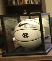 UNC Basketball signed by Roy Williams