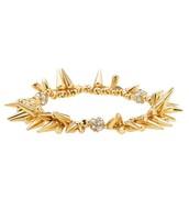 Gold Renegade Cluster Bracelet