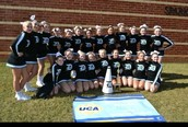 DMS Competition Cheer Wins Regionals