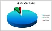 gráficos sectoriales