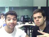 Igor Chaves - 17 e Gabriel Luiz - 14