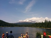 Trillium Lake, Mount Hood Oregon