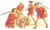 The punishment in Rome