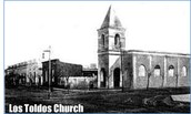 Los Toldos Church - Eva's childhood hometown
