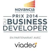 Remise du Prix du Business Developer @Novancia