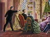 Assassination of Lincoln  april, 15, 1863