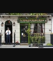 Sherlock Homes' house on Baker Street