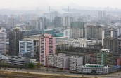 The North Korean capital