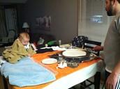 Lefsa Making