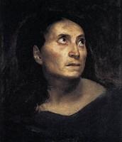Ritratto di una donna matta, Delacroix, 1824