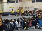 Jump Rope Team Visit!