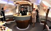 A380 First Class Bar