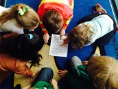 Reading groups practicing fluency