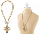 Soleil Necklace, gold
