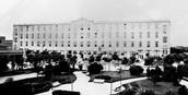 Cuando llegaban,  los inmigrantes iban al hotel llamado: HOTEL DE iNMIGRANTES