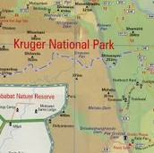 Map of National Park