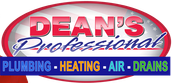 Dean's Professional Plumbing Heating Air & Drains