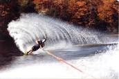 Me gusta mucho el esquí acuático!