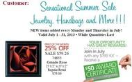 July Customer Special