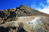 Volcanic Eruption in Mount Ontake