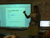 4th Grade, Mrs. Tuel challenged her students...