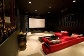 Our movie room