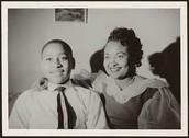 Emmett Till and his mother, Mamie Till Mobley