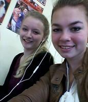 Leanne en Froukje