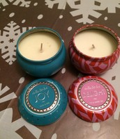 Mini Soy Candle Tins: Joy and Delight