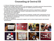 Counseling @ Central ES