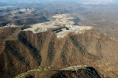Mountain top removal surface mining