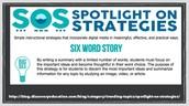 6 Word Stories