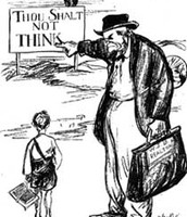 Scopes Trial Political Cartoon