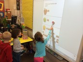Apple Graph on the Smartboard
