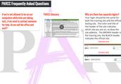 PARCC FAQ Padlet