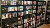 i own books and movies