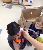 """Listening to a Heart Beat Using a """"Do It Yourself"""" Stethoscope"""