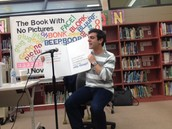 Author Visit from B.J. Novak