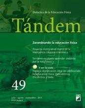 """""""ZARANDEANDO LA EDUCACIÓN FÍSICA"""" - Monográfico Revista Tándem Editorial Grao -"""