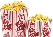 GET YOUR POPCORN FOR ONLY 50 CENTS.