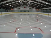 this is a hockey rink