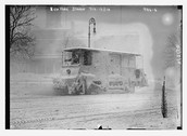 Snow Plow in 1910