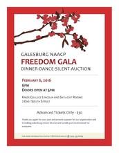 Galesburg NAACP Freedom Gala