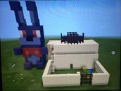 Some students used their love of Minecraft to create Ancient Egyptian houses!