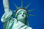 the statue of LIBERTYYYYYYYYY!!!!!!