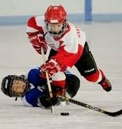 Mi primeró tiempo jugué hockey