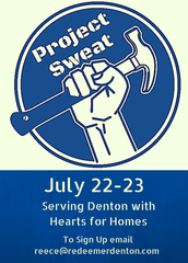 Project Sweat: Summer Service Project