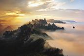 KOREAN MOUNTAINS.