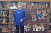 Alex helps students find books to read