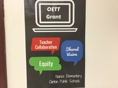 We are recipients of the Oklahoma Education Technology Trust